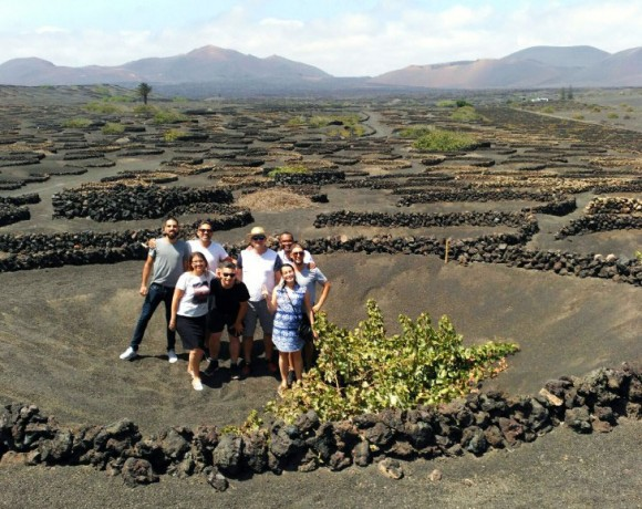 Cinco 'influencers' canadienses disfrutan de los encantos de Lanzarote