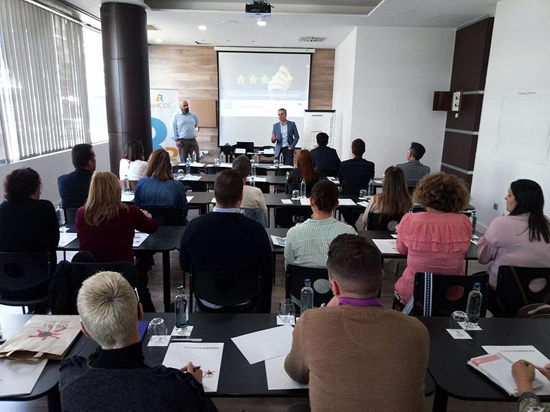 CIDE Turismo Lanzarote y Turismo Lanzarote apuestan por la Experiencia de Cliente para mejorar la competitividad de las empresas SICTED