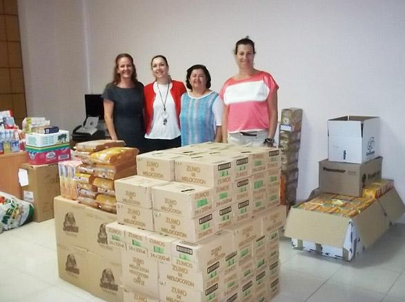 Los Hoteles Sostenibles de Lanzarote donan 2000 desayunos solidarios para los comedores escolares de la Isla