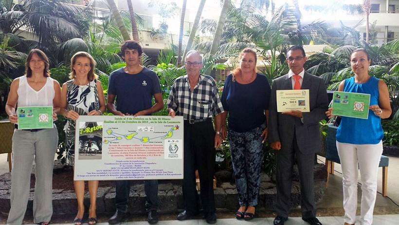 El Grupo de Alojamientos Sostenibles de ASOLAN patrocina el reto solidario: Asociación Tiguanfaya