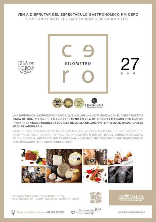 El Hotel Princesa Yaiza fomenta la gastronomía KM.0