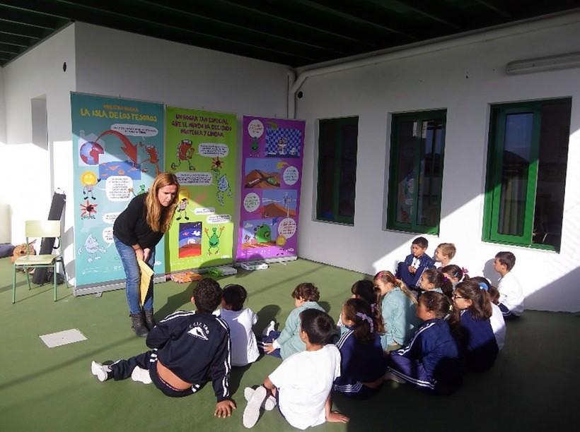 Los colegios Güime, María Auxiliadora y Liria se suman al proyecto Colegios de la Biosfera