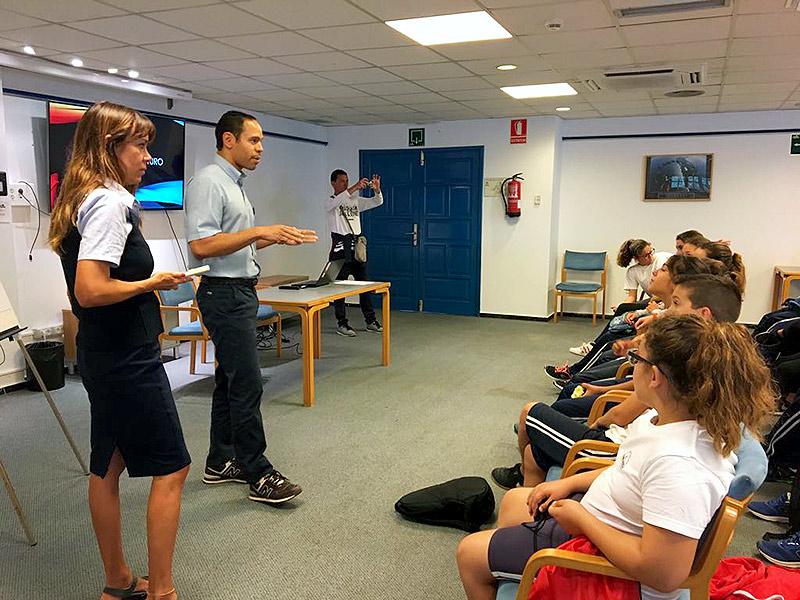Los alojamientos sostenibles de ASOLAN abren sus puertas a los estudiantes de la isla