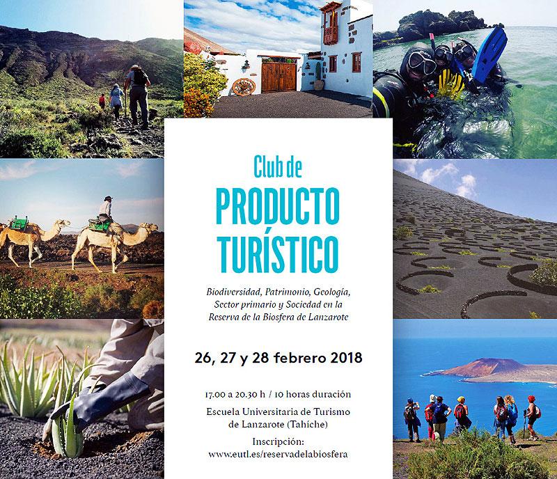 Nuevo curso de formación para empresas que quieran adherirse al Club de Producto Turístico Reserva de la Biosfera de Lanzarote