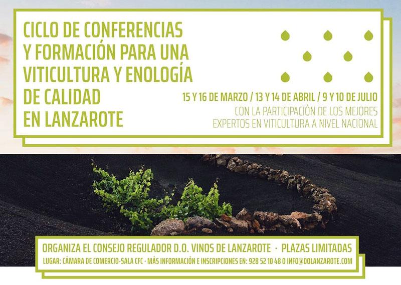 ¿Le interesa formarse para mejorar la viticultura y enología en Lanzarote?