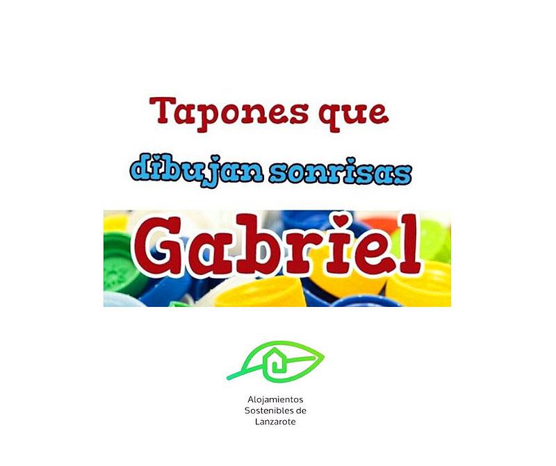Campaña de Recogida de Tapones Solidarios para Gabriel