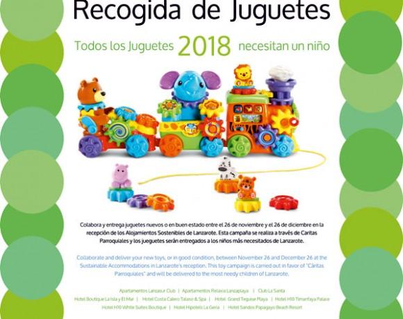 ASOLAN emprende una nueva campaña de recogida de juguetes en esta Navidad