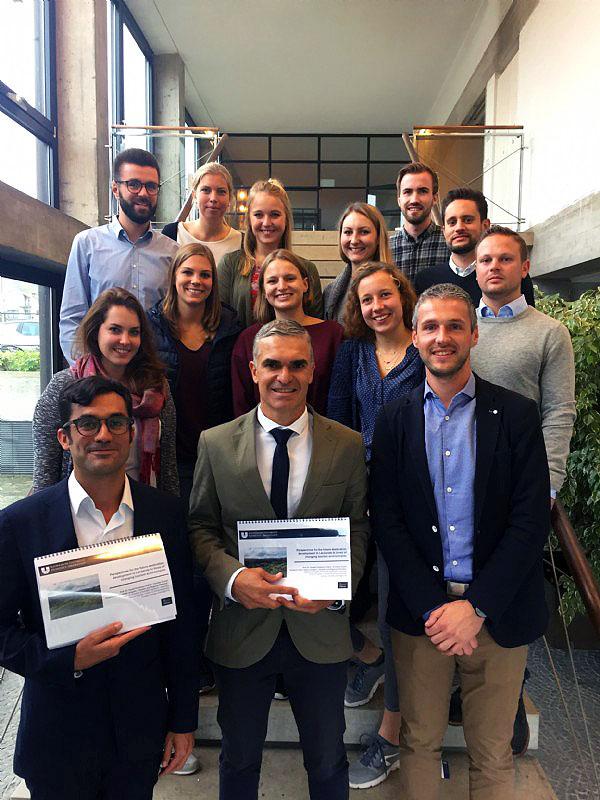 Turismo Lanzarote presenta en la Universidad alemana de Eichstätt-Ingolstadt el modelo turístico sostenible de la isla