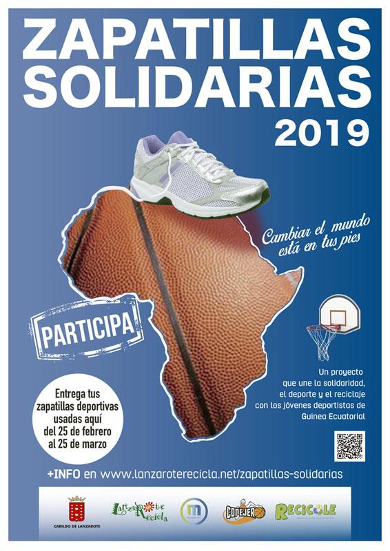 """Sandos Papagayo colabora en el proyecto """"Zapatillas Solidarias"""""""