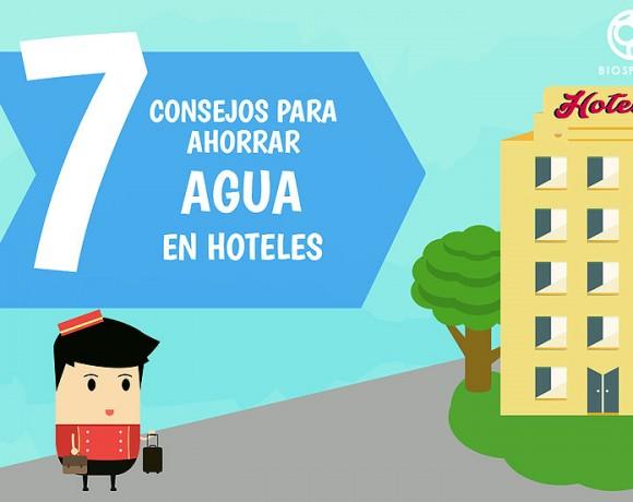 7 Consejos para ahorrar agua en hoteles