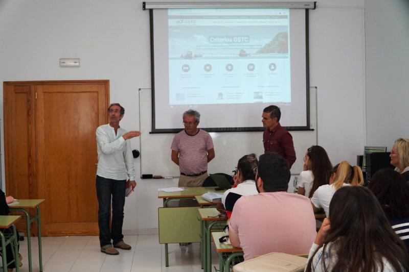 Turismo Lanzarote y la Reserva de la Biosfera analizan en la EUTL las certificaciones ambientales de la isla vinculadas al concepto de turismo y sostenibilidad