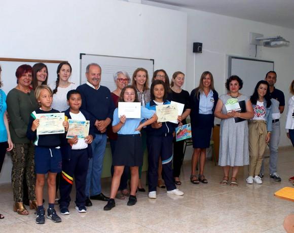 ASOLAN premia a los escolares ganadores del Concurso de Dibujo por el Día Mundial del Medio Ambiente
