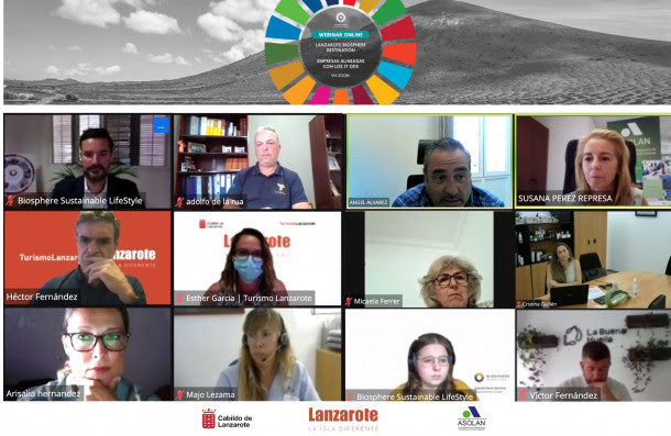 Lanzarote presenta las primeras empresas turísticas alineadas con los 17 Objetivos de Desarrollo Sostenible
